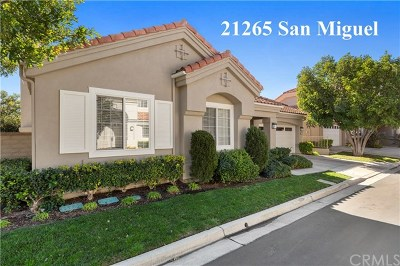 Mission Viejo Single Family Home For Sale: 21265 San Miguel