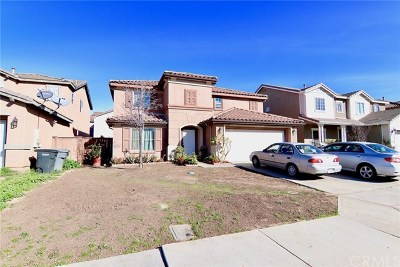 Perris Single Family Home For Sale: 1268 Iris Trail