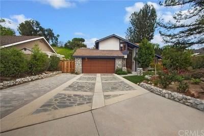 Yorba Linda Single Family Home For Sale: 5478 Richfield Place