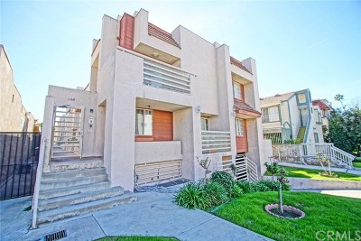 Glendale Condo/Townhouse For Sale: 1164 Justin Avenue #4