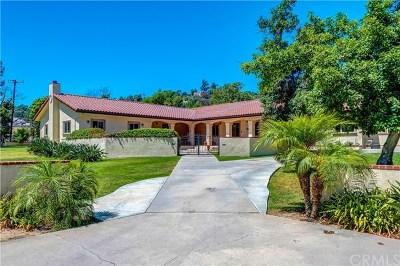 La Habra Heights Single Family Home For Sale: 1490 N Cypress Street