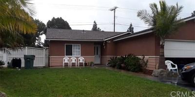 Corona Single Family Home For Sale: 1605 Adrienne Drive