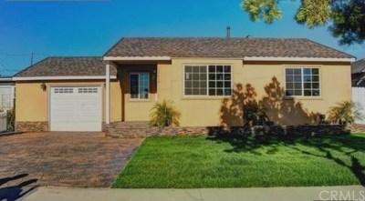 Gardena Single Family Home For Sale: 14416 Purche Avenue