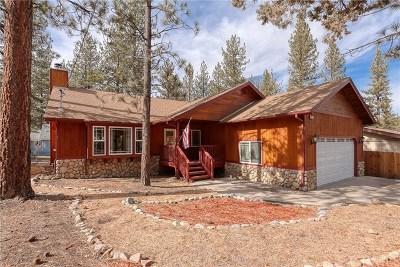 Blue Jay, Cedarpines Park, Crestline, Lake Arrowhead, Running Springs Area, Twin Peaks, Big Bear, Rimforest, Cedar Glen, Arrowbear Single Family Home For Sale: 427 Belmont Drive
