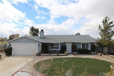 Apple Valley Single Family Home For Sale: 10614 Tujunga Road