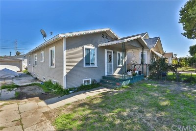 Pico Rivera Single Family Home For Sale: 4620 Oak Street