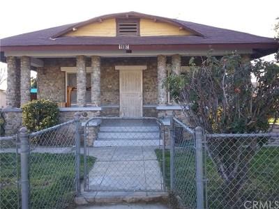 Rialto Single Family Home For Auction: 108 S Orange Avenue