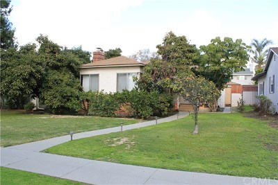 Whittier Single Family Home For Sale: 11559 See Drive