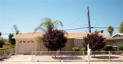Hemet Single Family Home For Sale: 201 W Mayberry Avenue