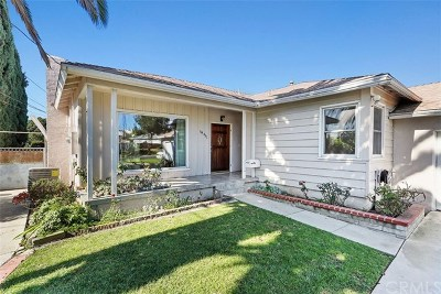 La Mirada Single Family Home For Sale: 14451 Cartela Drive