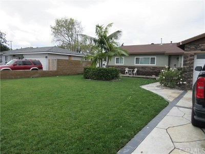 Garden Grove Single Family Home For Sale: 11721 Gary Street