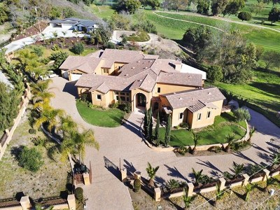 La Habra Heights Single Family Home For Sale: 370 East Road