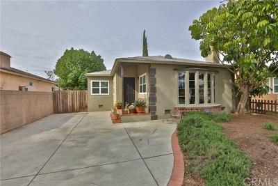 Whittier Single Family Home For Sale: 5915 Norwalk Boulevard