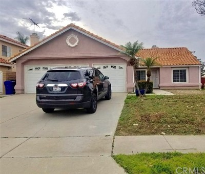 Fontana Single Family Home For Sale: 7450 Plumaria Drive
