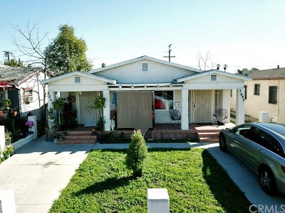 Los Angeles Multi Family Home For Sale: 3688 4th Avenue