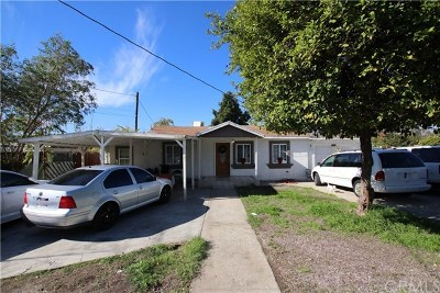 Pomona Single Family Home Active Under Contract: 11116 Roswell Avenue