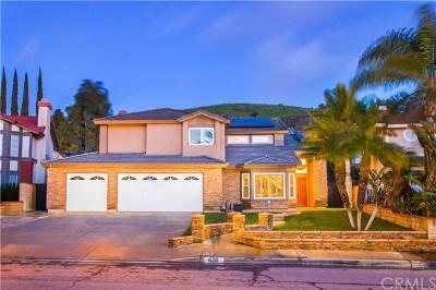 Diamond Bar CA Single Family Home For Sale: $925,000