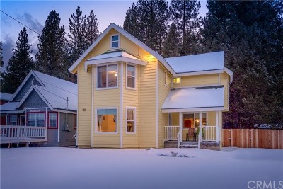 Big Bear Single Family Home For Sale: 640 Elm Street