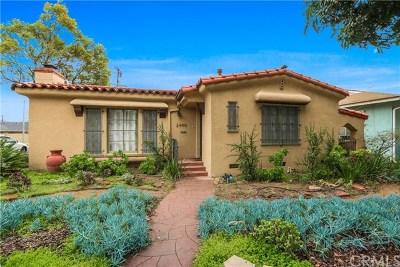 Long Beach Single Family Home For Sale: 2490 Pine Avenue