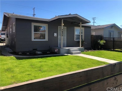 Whittier Single Family Home For Sale: 7932 Comstock Avenue