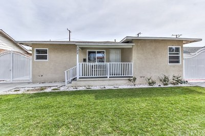 Fullerton Single Family Home Active Under Contract: 122 N Pritchard Avenue