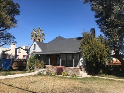 Single Family Home For Sale: 2800 Chester Lane