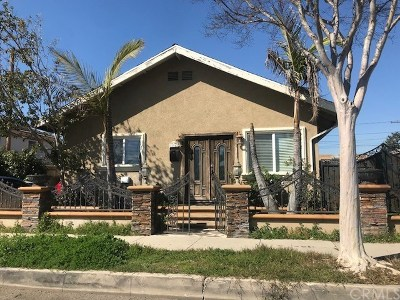 Anaheim Single Family Home Active Under Contract: 135 W Valencia Avenue