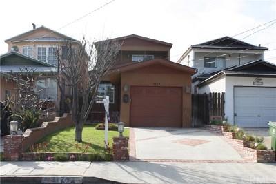 San Pedro Single Family Home For Sale: 3129 S Denison Avenue
