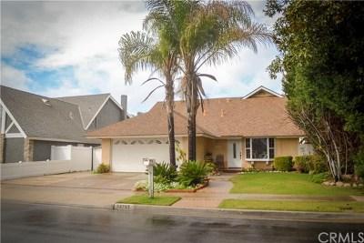 Tustin Single Family Home For Sale: 14761 Alder Lane
