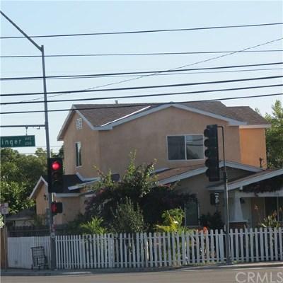 Santa Ana Single Family Home For Sale: 226 E Edinger Avenue