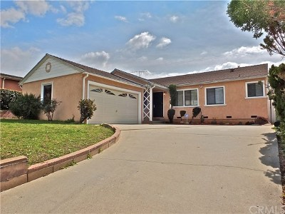 Hawthorne Single Family Home For Sale: 2046 W Imperial Highway