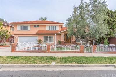 Yorba Linda Single Family Home For Sale: 4422 Camela Street