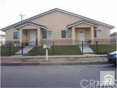 Rialto Multi Family Home For Sale: 925 W 2nd Street