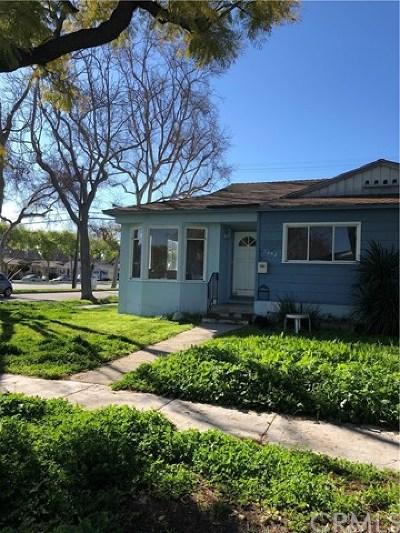 Long Beach Single Family Home For Sale: 6842 E Keynote Street