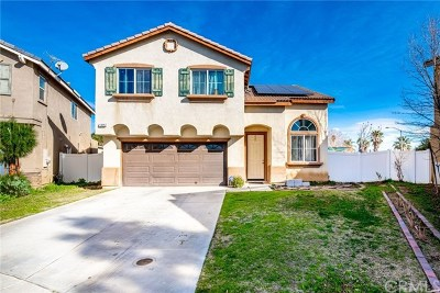 Perris Single Family Home For Sale: 1315 Plaza Way