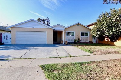 Santa Ana Single Family Home For Sale: 1908 S Artesia Street