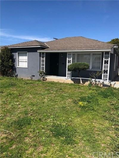 Santa Ana Single Family Home For Sale: 1321 W. 6th Street