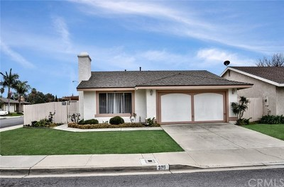 La Habra Single Family Home Active Under Contract: 370 Portola Avenue