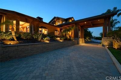 Yorba Linda Single Family Home For Sale: 18431 Buena Vista Avenue