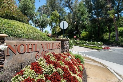 Anaheim Hills Rental For Rent: 6401 E Nohl Ranch Road #72