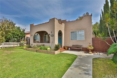 Whittier Single Family Home For Sale: 8030 Comstock Avenue