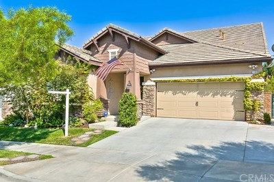 Corona CA Single Family Home For Sale: $530,000