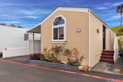 Dana Point Mobile Home For Sale: 34052 Doheny Park Road