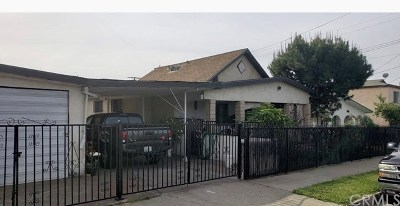 Los Angeles Multi Family Home For Sale: 1012 Spence