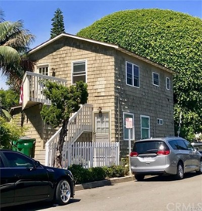 Laguna Beach Multi Family Home For Sale: 254 Cypress Drive