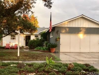 Orange County Single Family Home For Sale: 1409 Meriday Lane