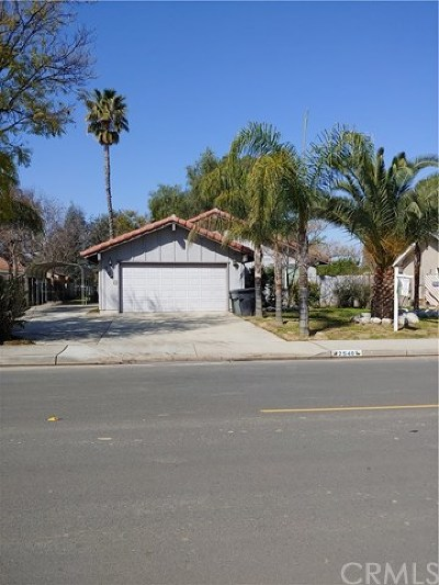 Perris Single Family Home For Sale: 2540 Wilson Avenue