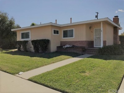 Long Beach Single Family Home For Sale: 2211 Conquista Avenue