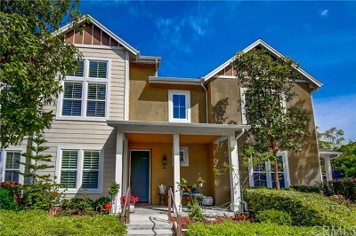 Ladera Ranch Condo/Townhouse For Sale: 21 Orange Blossom Circle