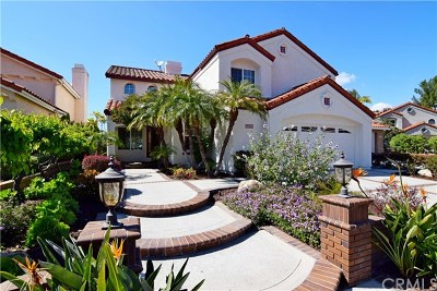 Mission Viejo Single Family Home For Sale: 21091 Whitebark